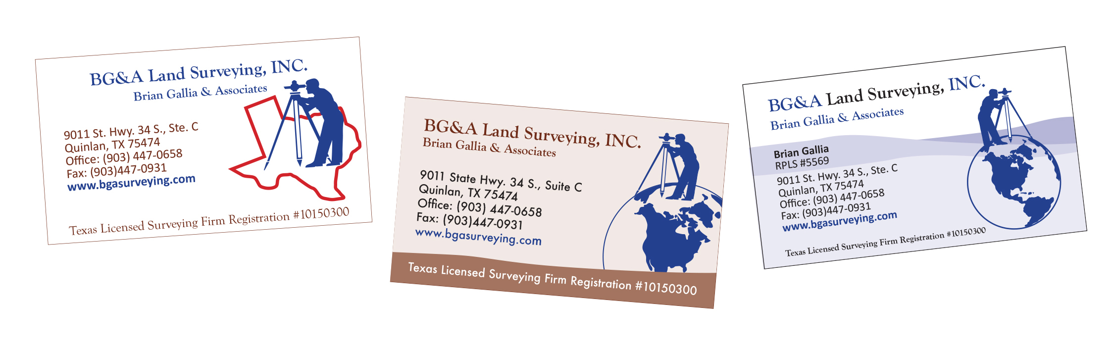 Bga land surveying schn graphicsschn graphics a blue card with a surveyer on top of the world reheart Image collections